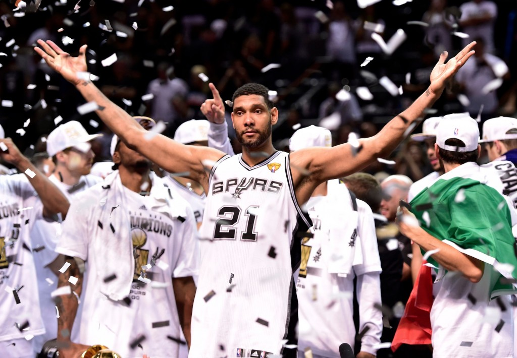 The one constant on the court for the Spurs throughout their decade of greatness? Tim Duncan.
